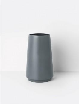 Ferm Living Dual floor vase grå-20