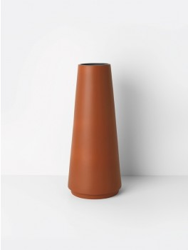 Ferm Living Dual floor vase Rust-20