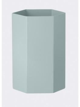 Ferm Living Hexagon Vase Light Blue-20