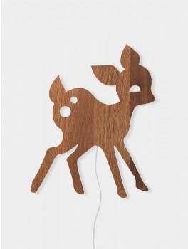 Ferm Living My Deer lamp smoked oak-20