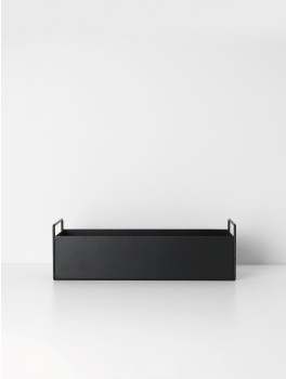 Ferm Living Plant box (Black)-20