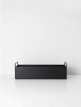 Ferm Living Plant box (Black)-20