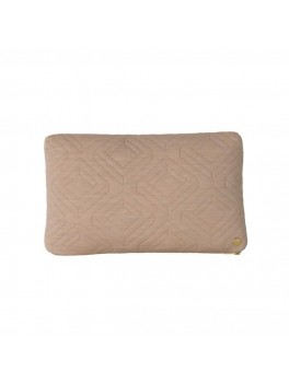 Ferm Living Quilt Cushion camel-20