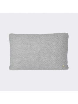 Ferm Living Quilt Cushion lys grå-20