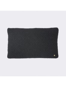 Ferm Living Quilt Cushion Mørk grå-20