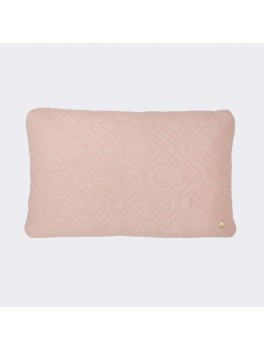 Ferm Living Quilt Cushion Rose-20