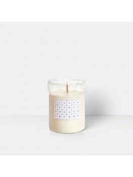 Ferm Living Scented candle calendar kalenderlys hvid-20