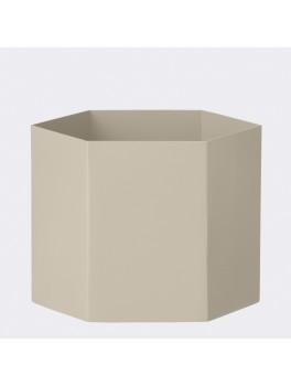 Ferm Hexagon Pot XL grå-20
