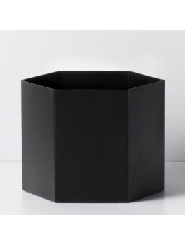 Ferm Living Hexagon Pot sort XL-20