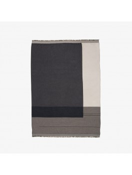 Ferm Living Colour Block Throw grey-20