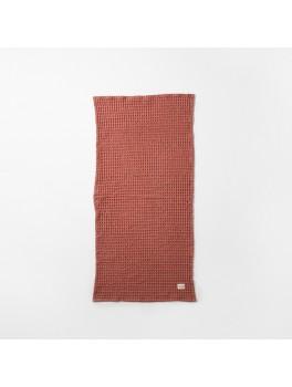 Ferm Living Organic Hand Towel rust-20