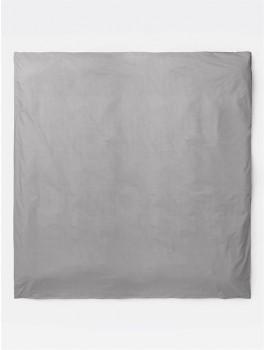 Ferm Living - Hush sengesæt til dobbeltdyne - Grey - 200x200