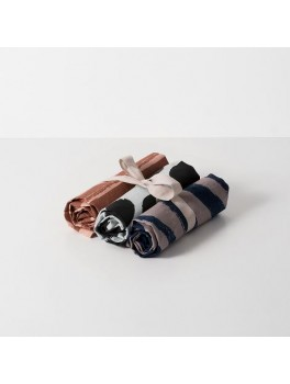 Ferm Living Brush Tea Towels Rust/rosa-20