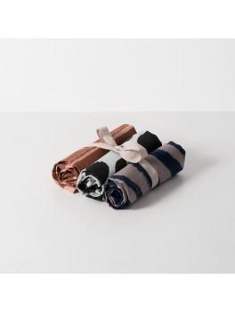 Ferm Living Brush Tea Towels brun-20