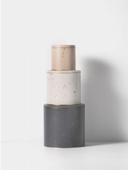 Ferm Living Confetti Tin Boxes sæt a 3-20