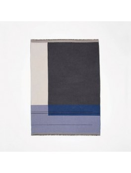 Ferm Living Colour Block Throw blue-20