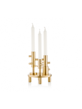 Fritz Hansen accessories, Candleholder Large Brass-20