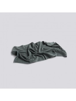 Hay Frotté Håndklæde Dark Green 50 x 100 cm.-20