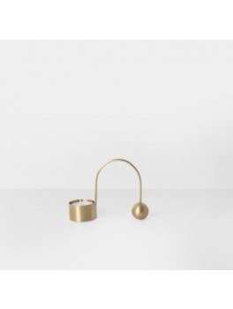 Ferm Living Balance fyrfadsstage Messing-20