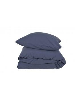 Gartex Stone sengetøj Navy Blue 100% bomuld stonewash 140x220-20
