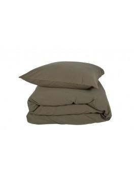 Gartex Stone sengetøj Olivengrøn 100% bomuld stonewash 200x200-20