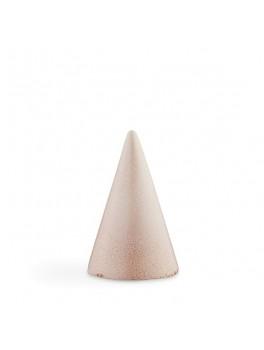 Kähler Glasurtop Lys rød 11 cm.-20