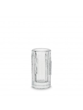 H Skjalm P Rå Glas vase/fyrfadsstage-20