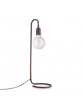H Skjalm P Lampe formet af rør Mat bordeaux-20