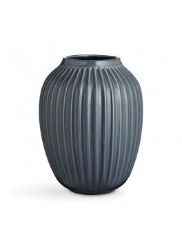 Kähler Hammershøi Vase (stor) Antracitgrå-20