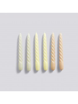 Hay Candle Twist 6 pk. Grey Beige/Citrus/Peach-20