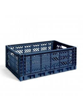 Hay Colour Crate Navy Large-20