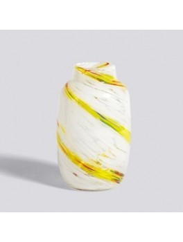 Hay Splash Vase Lemon Swirl-20