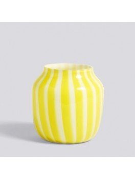 Hay Juice Vase Wide yellow-20