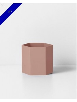 Ferm Living Hexagon Pot Rosa Stor-20