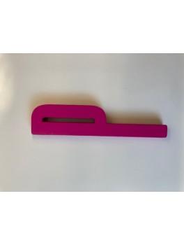 Design Letters - Bogstav - P - Pink