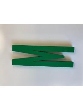 Design Letters - Bogstav - M - Grøn