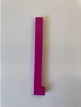 Design Letters - Bogstav - L - Pink