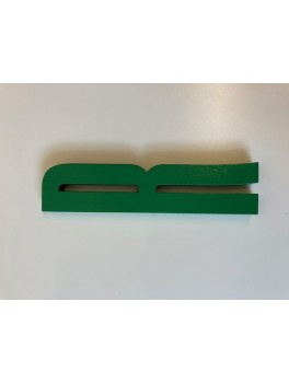 Design Letters - Bogstav - R - Grøn