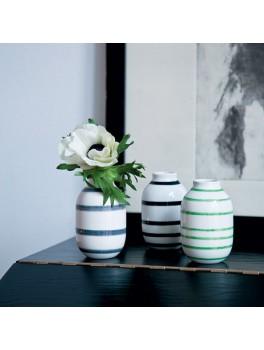 Kähler Omaggio mini vaser 3-pak Sort,Grå,Grøn-20