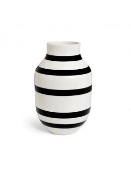 Kähler Omaggio Vase Stor (Sort)-20