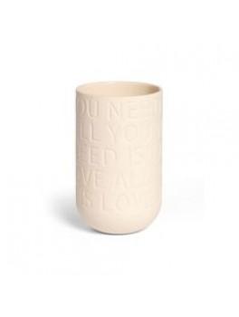 Kähler Lovesong Vase Rose H300-20