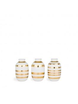 Kähler Omaggio Mini Vaser (Guld)-20