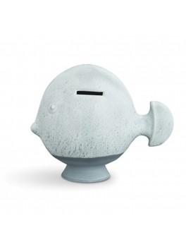 Kähler Sparedyr Mint fisk H16 cm.-20