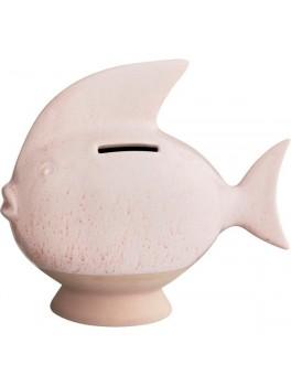 Kähler Sparedyr Rosa fisk H14,5 cm.-20
