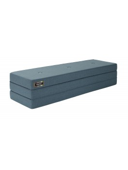 By Klipklap KK 3fold (Dusty Blue 940 w. blue buttons). Varierende levering.-20