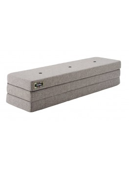 By Klipklap KK 3fold XL (Multi Grey 520 w. grey buttons). Varierende levering.-20