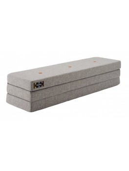 By Klipklap KK 3fold (Multi Grey 520 w. Orange buttons). Varierende levering.-20