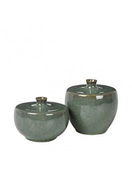 Broste Vase Mabel Grøn Lille-20