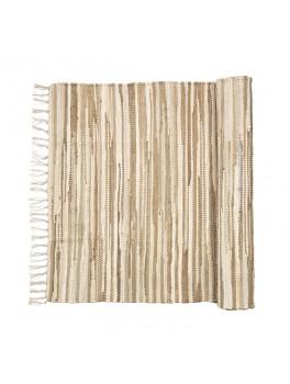 Broste Tæppe Chindi Sand melange 60x90-20