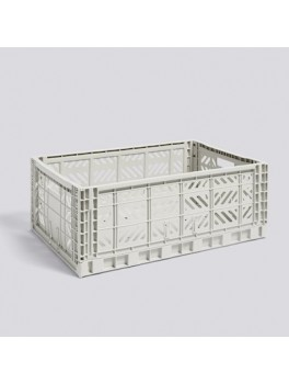 Hay Colour Crate Light Grey Large-20